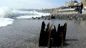 Quitar fierros en playa Barranco costaría US$1 millón [Video]