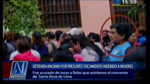 Acosador sexual agredió cinco mujeres en Iglesia de Santa Rosa