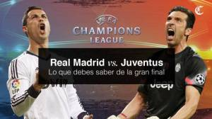Real Madrid vs Juventus: fecha, hora y TV de final de Champions