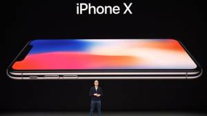 Apple logra cotización récord por mayor demanda del iPhone X
