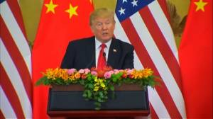 Trump pide a China