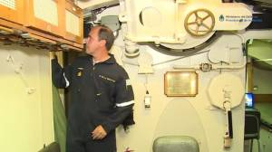 ¿Cómo es el interior del submarino ARA San Juan? [VIDEO]